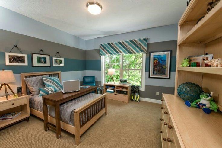 Schlafzimmer Querstreifen