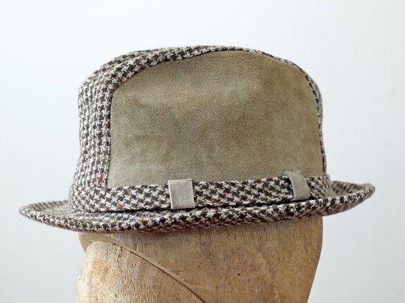 1960s Stetson Fedora / 60s Mens Hat / Mens Fedora via Etsy