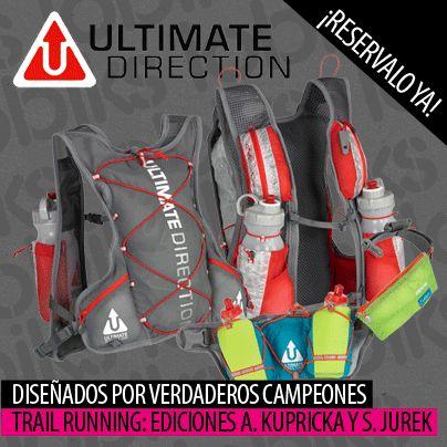¡Buenos días! Os presentamos las mochilas y cinturones de hidratación de Ultimate Direction. Diseñadas por los mejores corredores de #TrailRunning.  http://lobiks.com/90_trail-running-ultimate-direction
