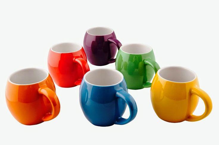 Primrose colorful mugs