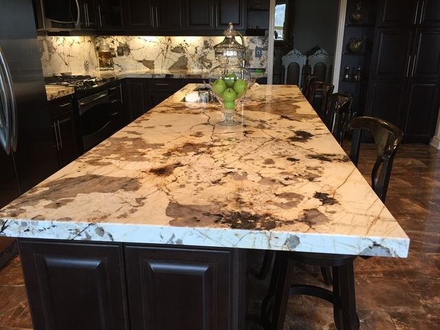 Blanc Du Blanc Granite Kitchen Island And Backsplash Maxspace Stone Works In 2020 Backsplash Designs Granite Kitchen Kitchen Backsplash