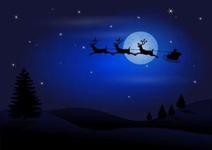 Why Did Santa Chose Female Reindeer to Help Him Deliver Presents?