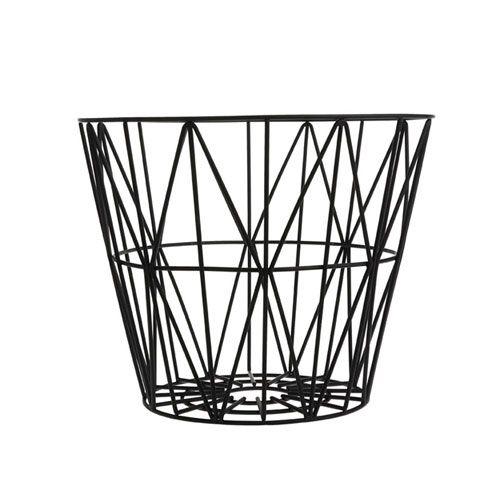 Ferm Living - Wire TrådKurv - Sort