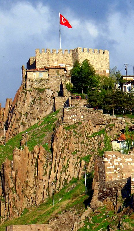Ankara Hill & Castle; Ankara, Turkey