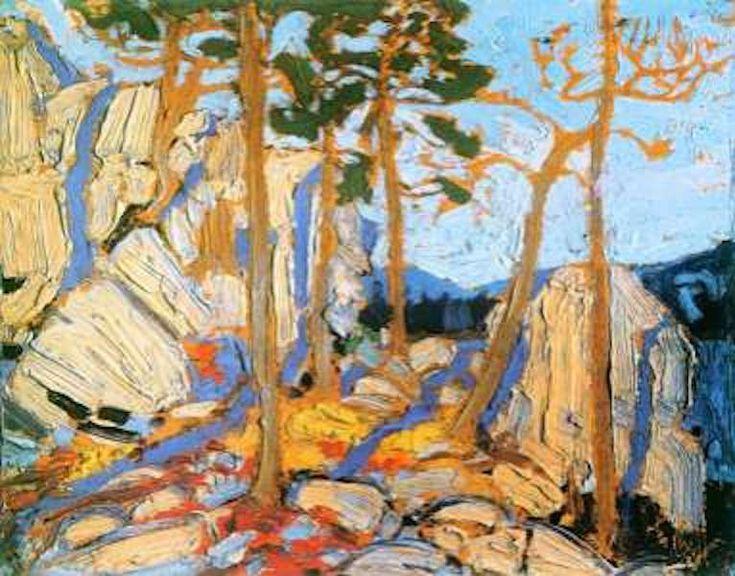 Tom Thomson Pine Cleft Rock