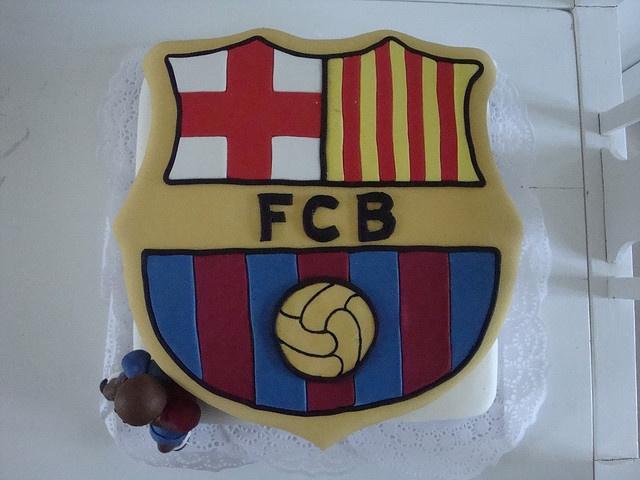 Barcelona FC cake idea