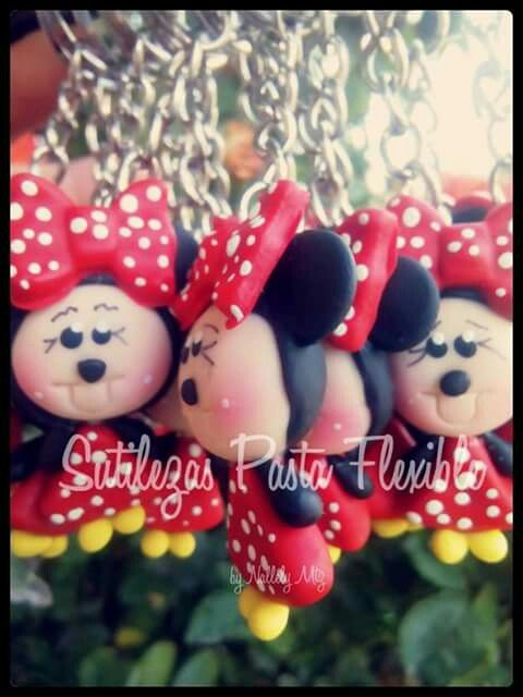 Minnie mouse pasta flexible Siguenos en facebook Sutilezas pasta flexible