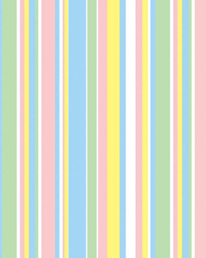 Adorable Baby Stripes gift wrap, available in 6 sizes!  #Baby #Giftwrap #Pastels