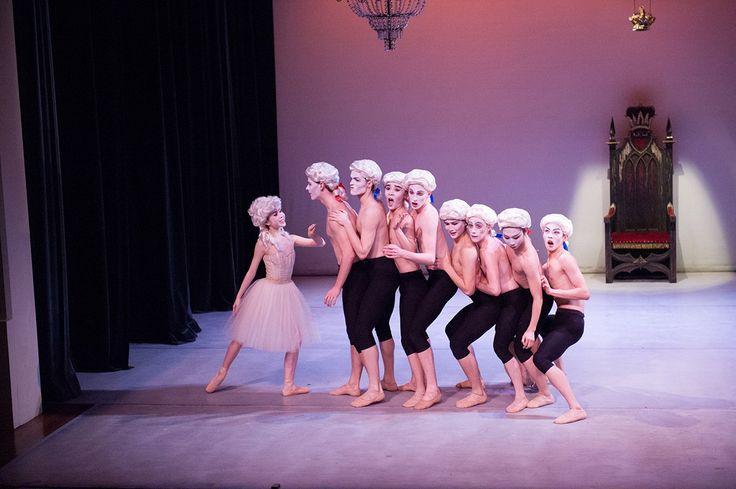 Students of The Australian Ballet School in Rimbombo by Simon Dow.