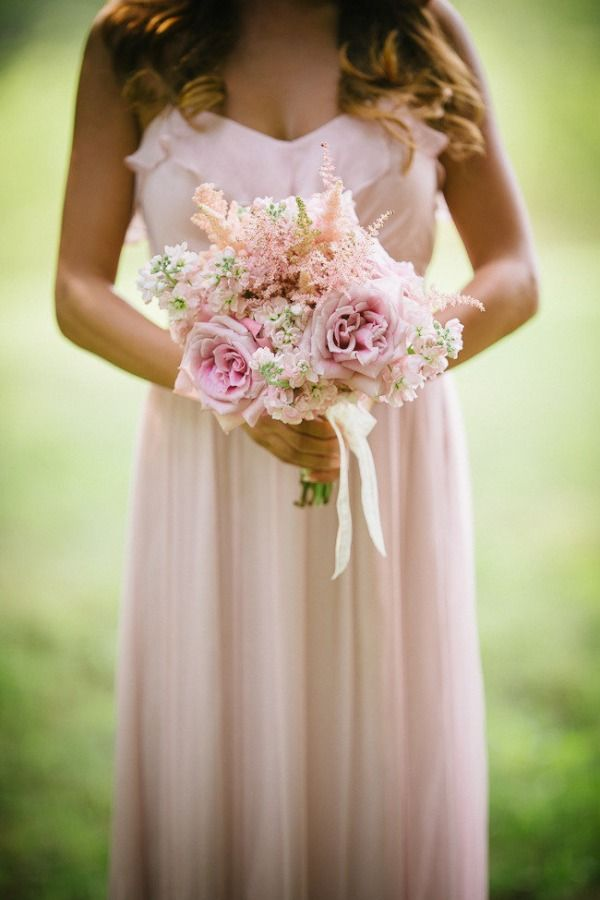 136 best images about blush bridal bouquets on pinterest for Flower sprays for weddings