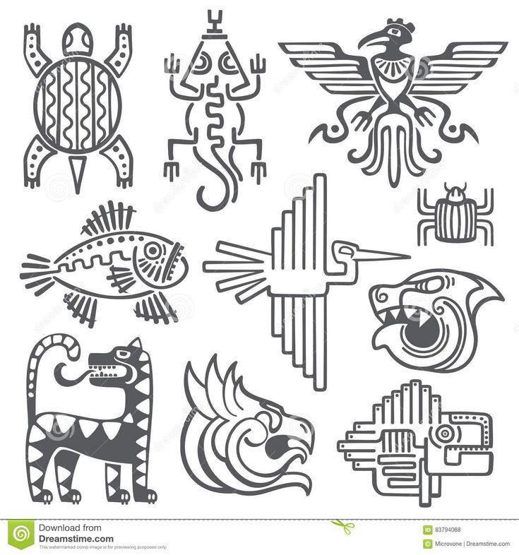 best 25  aztec tattoo designs ideas on pinterest