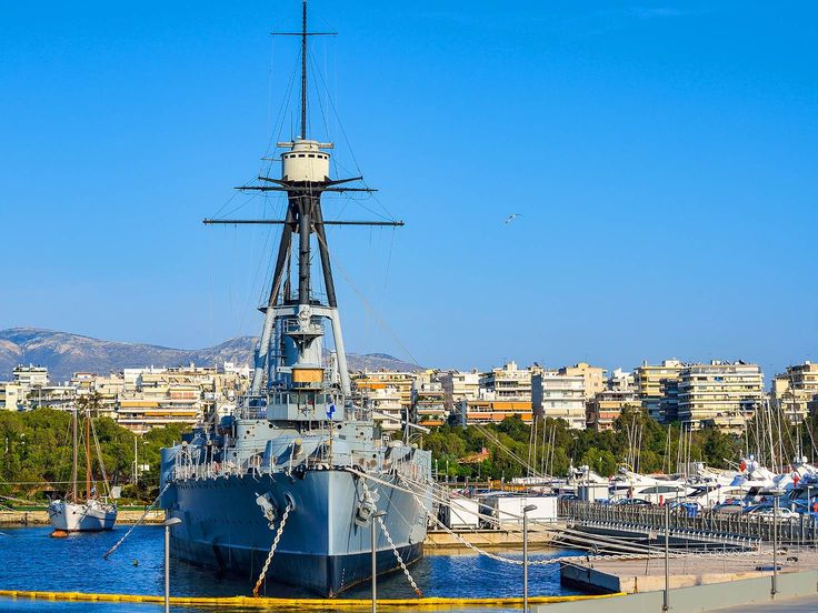 Battleship Averoff naval museum in Flisvos Marina| Lonely Planet #Faliro #AthensCoast