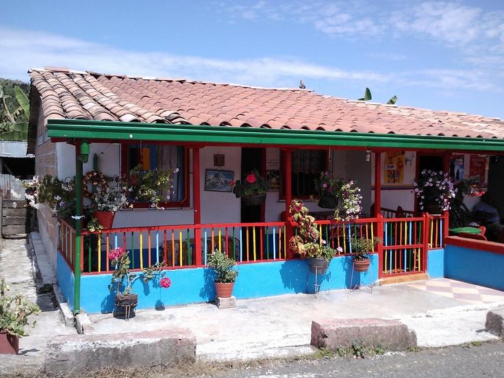 Casa tipica en Jericó