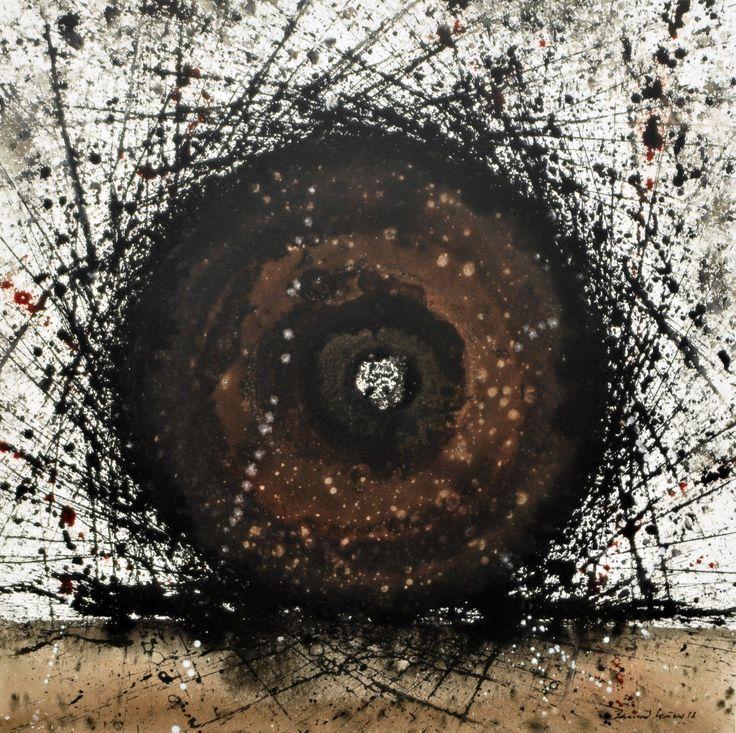 """roules"" acryl, tusche, leinwand 80X80 bernhard kaeser 2013,  Acryl auf Leinwand ,abstrakte, Kunst, malerei, Leinwand, painting, abstract,"