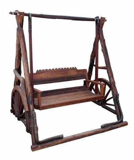Balansoar din lemn - Exotique.ro