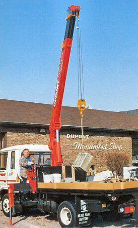 UNIC Truck-mounted crane