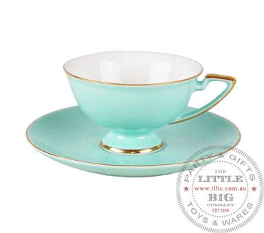 Lady Kensington Tiffany Blue Tea cup and saucer | Wedding Reception | Weddings | The Little Big Company Pty Ltdparty, glass bottles, swizzle sticks, beverage dispenser, birthday, gift, rock candy