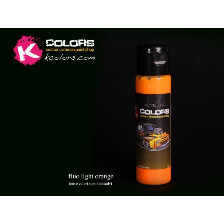 colore fluorescente arancio chiaro ral 2007