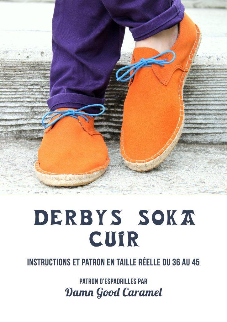 Espadrilles DERBYS SOKA: le patron en version cuir