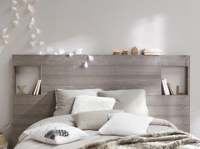 Tete de lit en lambris