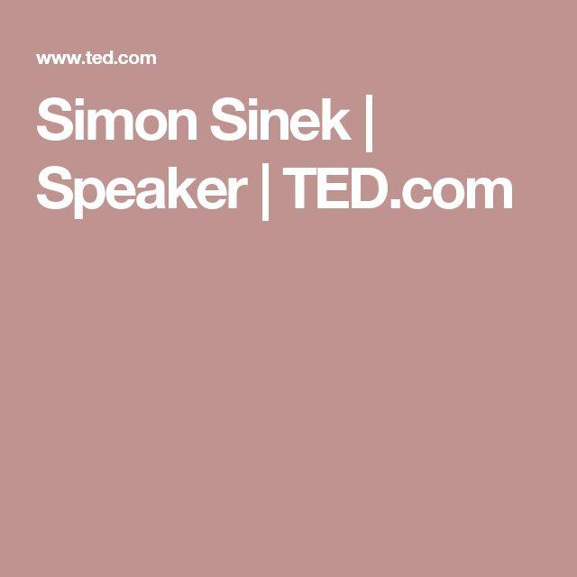 Simon Sinek | Speaker | TED.com
