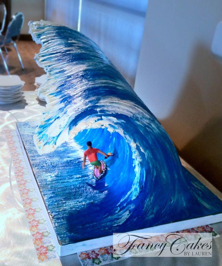 The Giant Wave Cake  Fancycakesblog.com