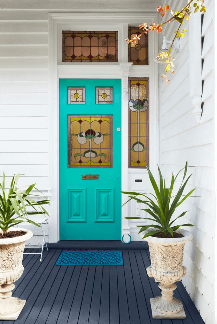 Best 25+ Teal front doors ideas on Pinterest | Teal door ...