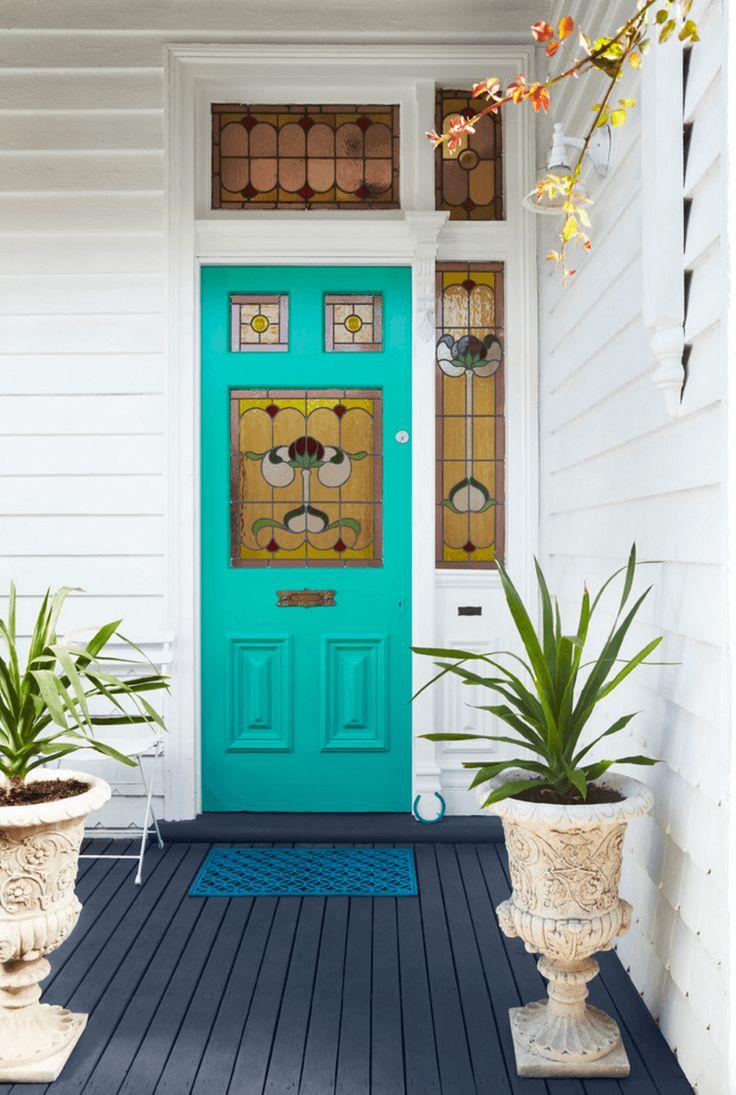 Best 25+ Teal front doors ideas on Pinterest | Teal door ...