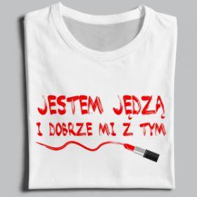 JESTEM JĘDZA I DOBRZE MI Z TYM - T-Shirt Long Sleeve Sweatshirt Hoodie For Men or Women