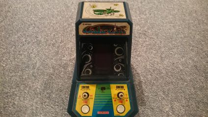 Vintage Galaxian Mini Arcade Electronic Game by Coleco