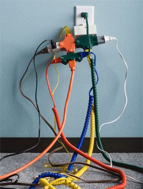 office safety tips | Please educate your office workers regarding electrical safety. Here ...