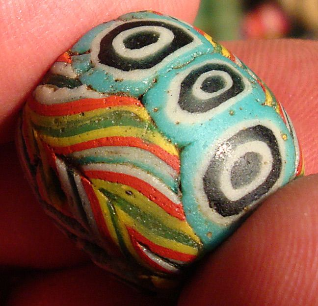 Ancient Morfia bead from Fustat (Cairo, Egypt)