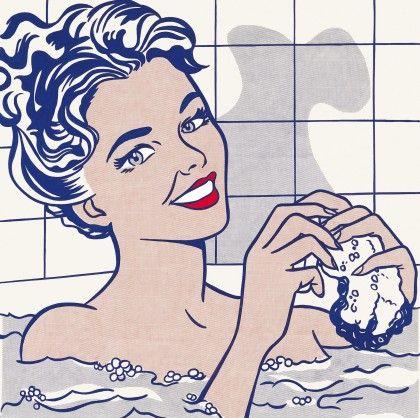 Roy Lichtenstein: Woman in Bath