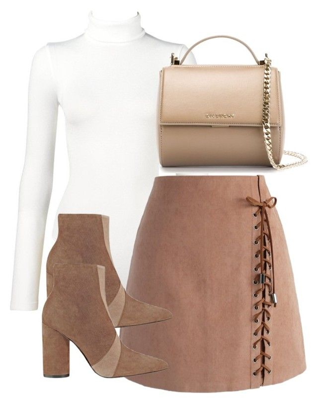 """Untitled #2997"" by theeuropeancloset on Polyvore featuring Wolford, Chicwish, Sigerson Morrison and Givenchy"