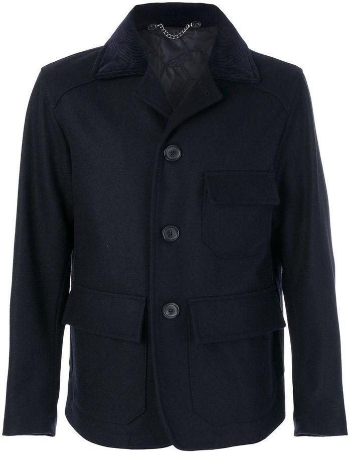 Doppiaa single breasted short coat