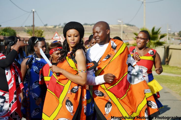 Traditional South African Wedding - Swati Wedding - South Africa - Soweto