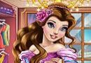 Belle Real Makeover. Belle wants to spend a night in the enchanted castle. But before heading to the castle you have to prepare. Start by cleaning your face with beauty treatments and help you relax before meeting the Beast.  Source: http://www.friv-top.com/belle-real-makeover.html