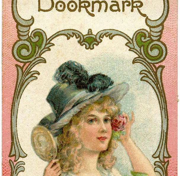 This is a Lovely Vintage Bookmark Image!! Featured here is a pretty, and useful, piece of Paper Ephemera.