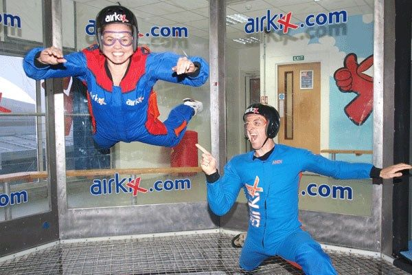2 for 1 Airkix Indoor Skydiving Special Offer from Buyagift