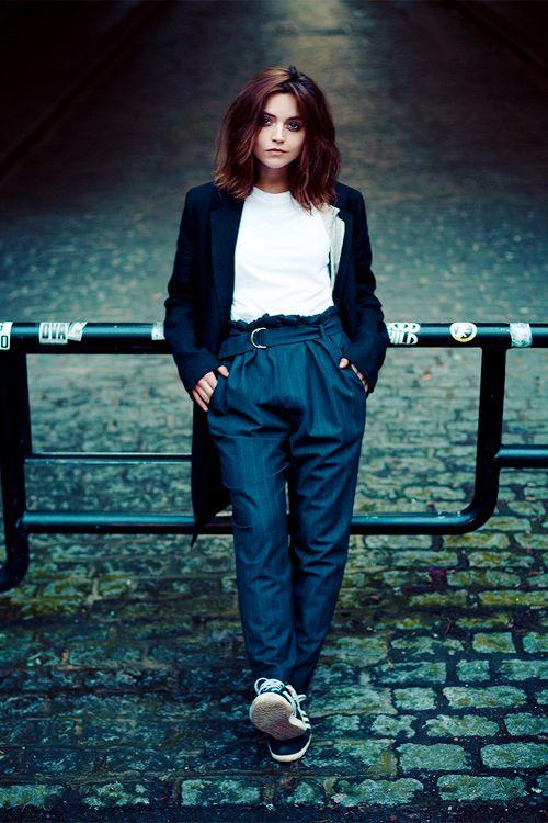 可愛すぎるイギリス出身の女優といえば…ジェナ・コールマン♡♡♡
