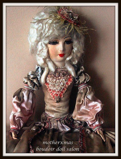 Античная Boudoir Кукла, Французская кровать Кукла