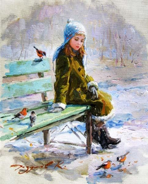 Konstantin Razumov (1974, Russian)    Winter Treat  http://iamachild.wordpress.com/2012/11/17/konstantin-razumov-1974-russian-2/