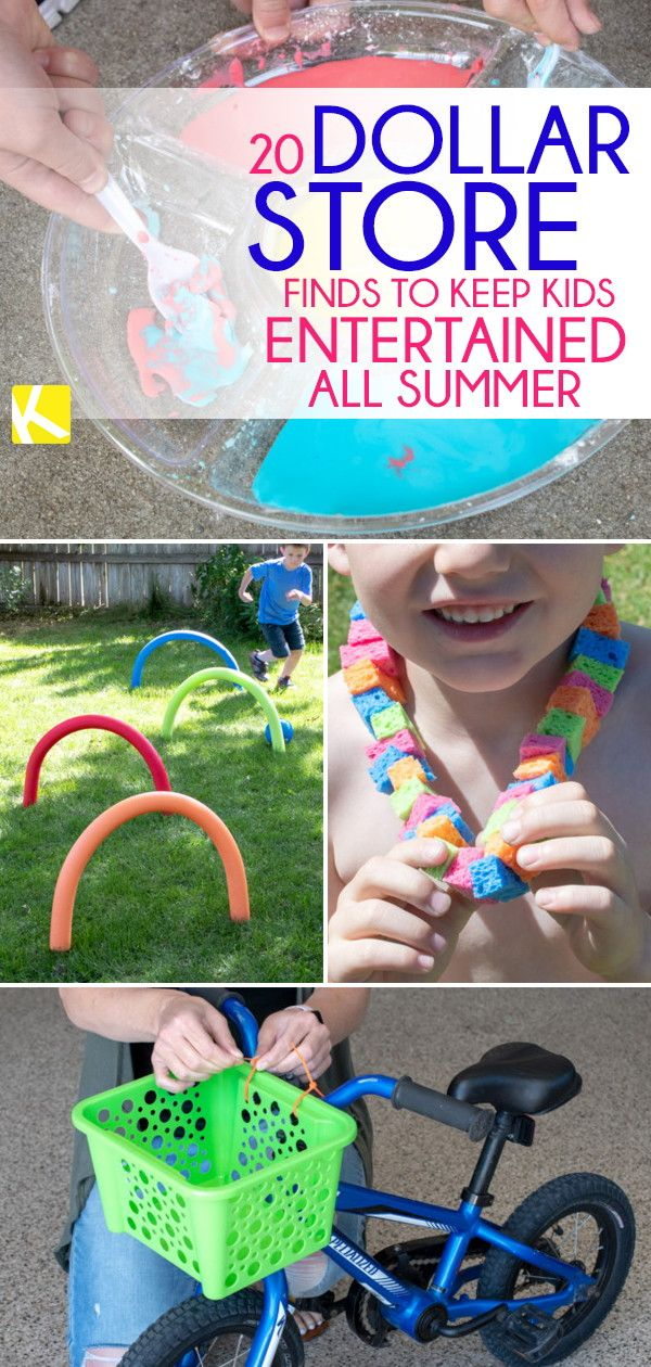 20 Surprising Dollar Store Finds to Keep Kids Entertained All Summer