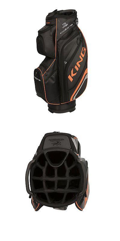 Golf Club Bags 30109: 2017 Cobra King Cart Bag Black New -> BUY IT NOW ONLY: $184.99 on eBay!