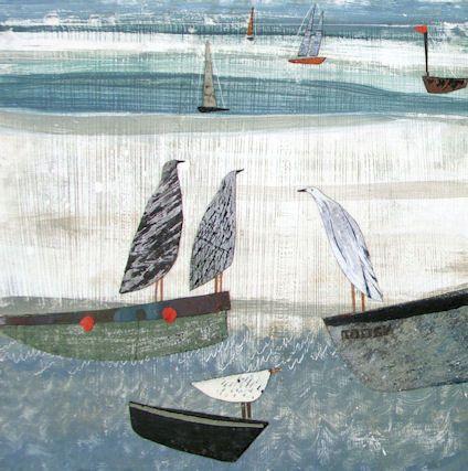 Gulls on Boats, £24.00