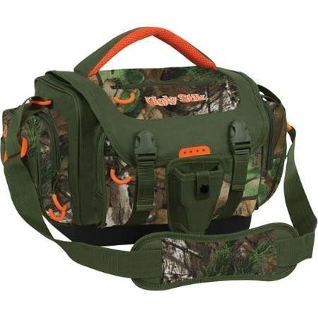 Ugly Stik Realtree Camo Large, Tough Texture All-weathe Non-slip Compression Molded Bottom, Durable Tackle Bag  http://fishingrodsreelsandgear.com/product/ugly-stik-realtree-camo-large-tough-texture-all-weathe-non-slip-compression-molded-bottom-durable-tackle-bag/  Realtree Camo Tackle Bag/ Color: Realtree Xtra Large main compartment/ Tough texture all-weathe non-slip compression molded bottom Removable tool holster with belt clip/ Three external accessory pockets with zipper