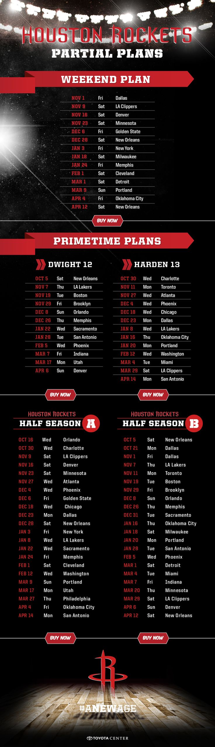 Se season tickets for houston rockets - Partial Season Ticket Plans Available Now Get Yours Now Houston Rockets Mini Plans