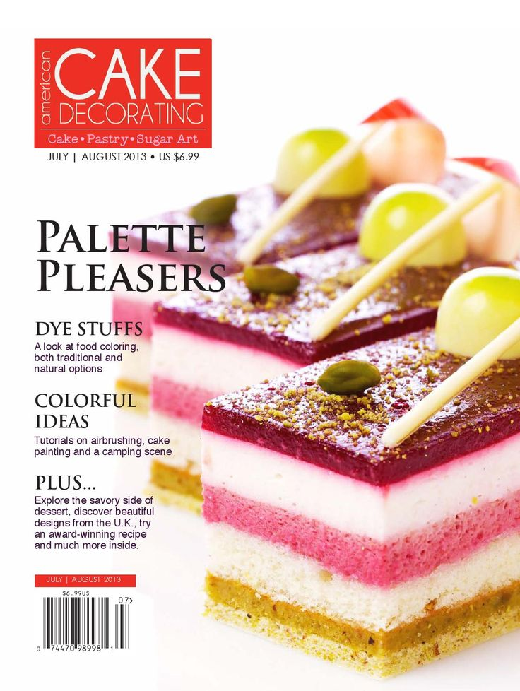 American Cake Decorating  July/Aug 2013  Featuring cake design and decorating information, recipes, tutorials and more.