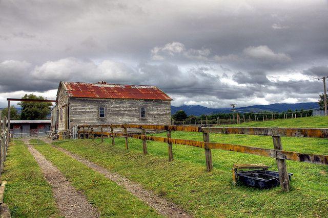 Old farm building, Levin, Manawatu, New Zealand   Flickr - Photo Sharing!