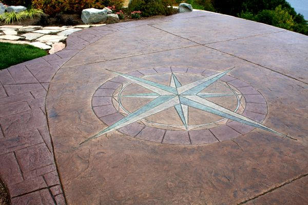 Stained Concrete | How to Stain Concrete Patio: Concrete Stain Patio – NorthTryOn